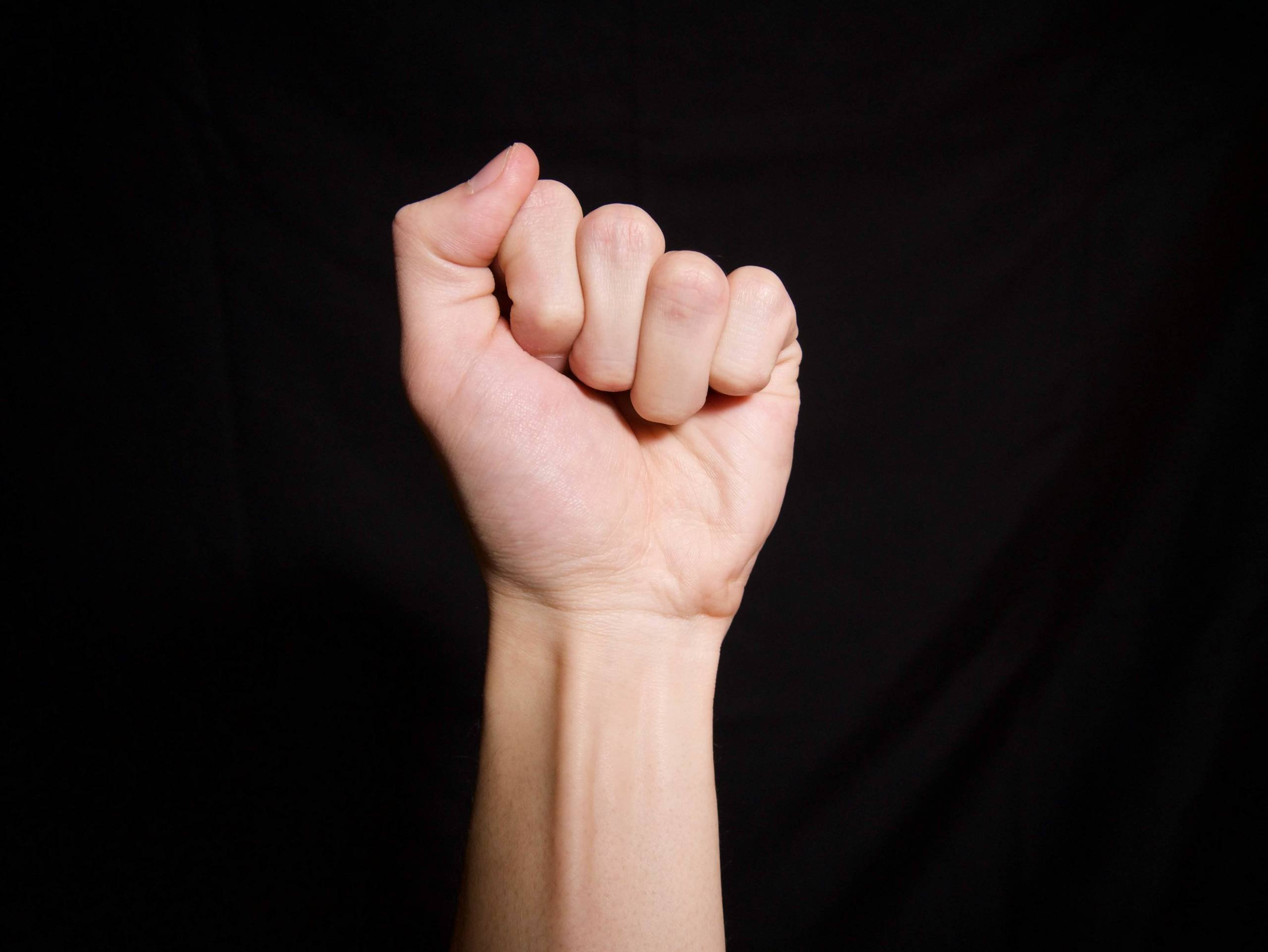 post hand surgery