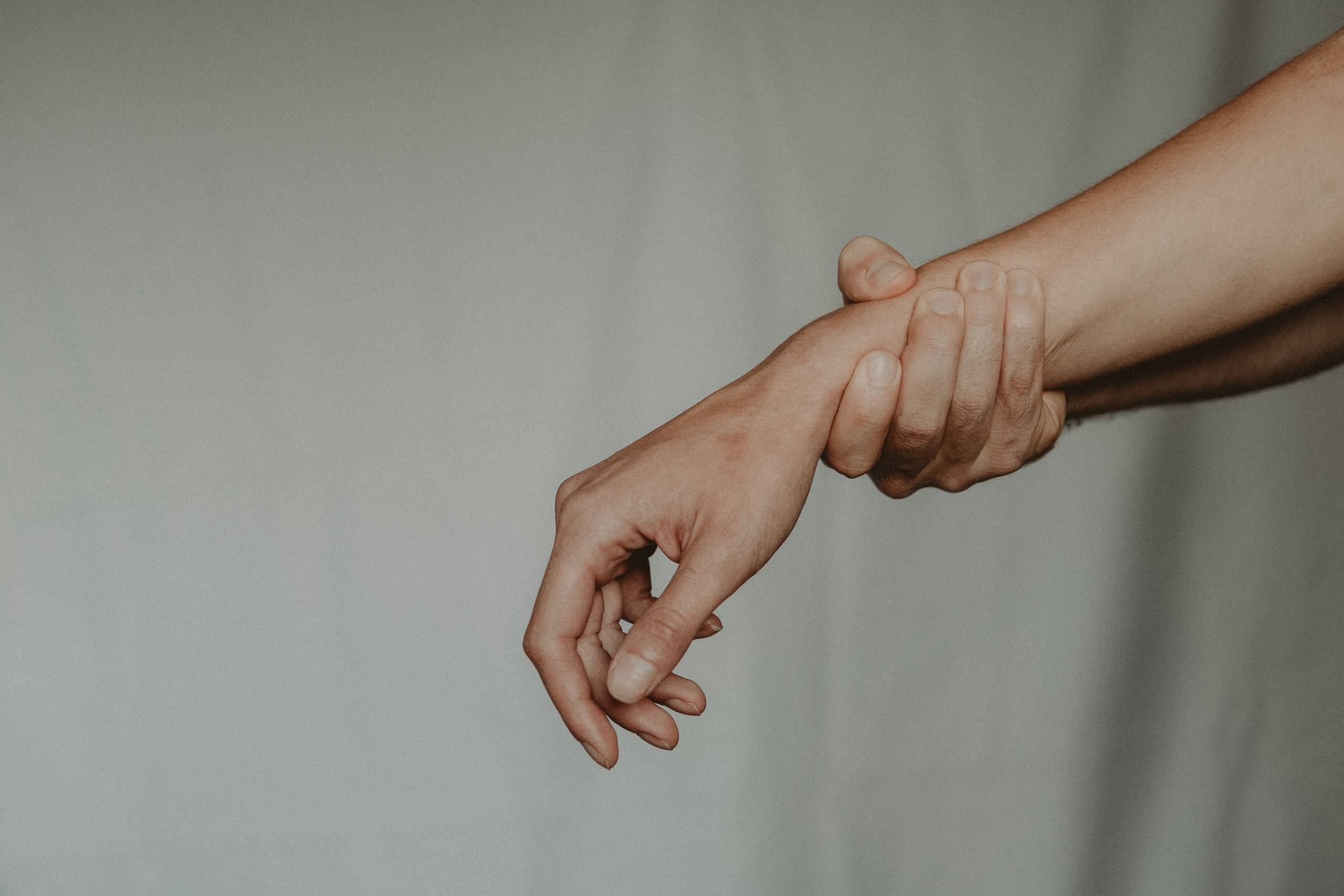 holding your own wrist